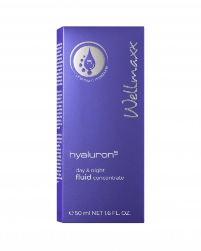 Wellmaxx Hyaluron5 day & night fluid concentrate 50ml