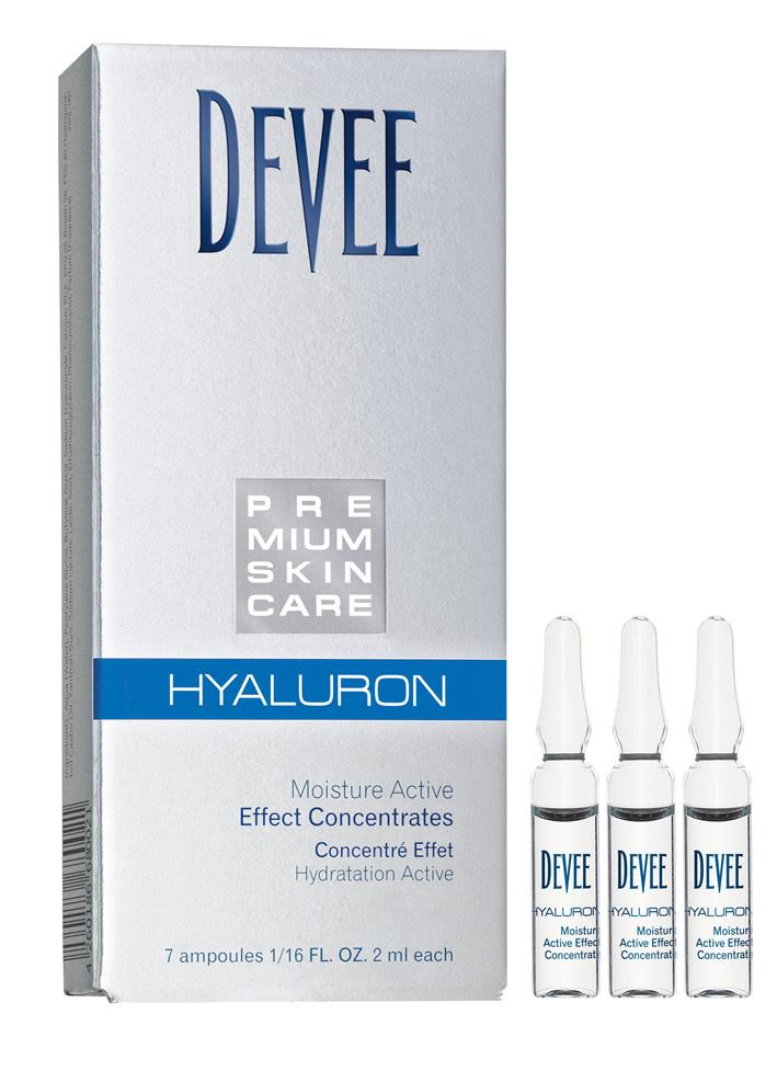 Ampulky s kyselinou hyaluronovou pre okamžitý účinok