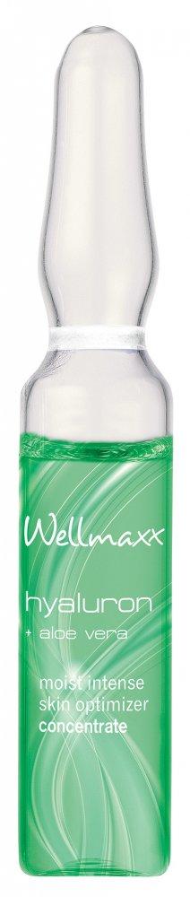 wellmaxx hyaluron aloe vera v ampulkách